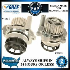 For Audi A3 A4 TT VW Eos GTI Jetta Passat 2.0L OEM Italian GRAF Water Pump NEW