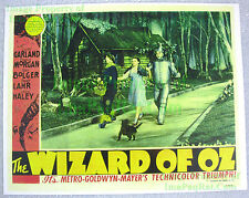 80's Vintage ☆ Wizard Of Oz ☆ Judy Garland ++ ☆ Lobby Card Poster Litho (Ver. 1)