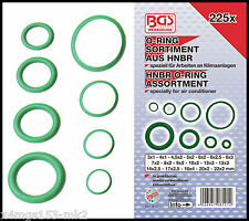 BGS - HNBR O Ring Assortment For Air Con Pipes Etc - 3-22 mm Ø - 8121