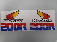 NEW HONDA XR 200R XR200R XR200 R XR 200 R FUEL GAS TANK GRAPHICS DECALS STICKERS