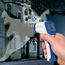 Paranormal Ghost Hunting IR Infrared Non Contact Thermometer Laser Dot Alignment