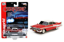 AUTO WORLD 1:64  MOVIE HOLLYWOOD CHRISTINE 1958 PLYMOUTH FURY AW6401
