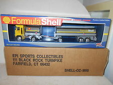 EPI Formula Shell Tanker Truck Bank - Die-Cast - Limited Edition - New in Box