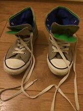 Converse Trainer Double Tongue Hightop Youth Size: UK 2.5 rare