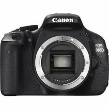 Canon EOS 600D / Rebel T3i 18.0MP Digital SLR Camera - Black (Body Only)