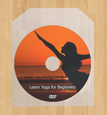 Yoga for beginners, relaxation exercise, weight loss, stress relief DVD video