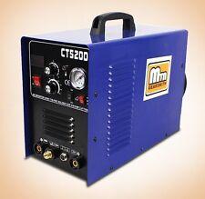 3-IN-1 50A Plasma Cutter 200 Amp TIG MMA CUT Stick Arc Welder Cutter 110V 220V