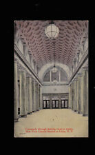 Colonnade through waiting room to trains- NY Central Station- Utica NY 1915