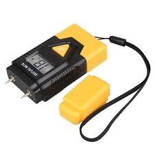 Digital LCD Moisture Temperature Meter Humidity Wood Timber Damp Tester Detector