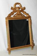 Miroir Style Louis XVI Carquois et Aiglon Bois doré Milieu Xxème