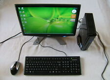 "ACER Mini PC Intel 2 x 2.20 GHz 250GB DVD SD WiFi TV Tuner + 19"" LCD Monitor"