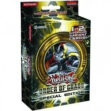 YuGiOh ORDER OF CHAOS SPECIAL EDITION Booster Pack package NEW & SEALED!!