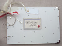 PERSONALISED MEMORIES . A4 SIZE. PHOTO ALBUM/SCRAPBOOK/MEMORY BOOK.