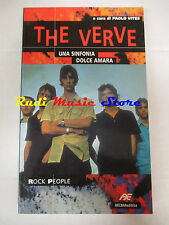 BOOK LIBRO THE VERVE Una sinfonia dolce amara 1998 ARCANA lp dvd live 6*