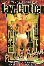 Jay Cutler A Cut Above FIRST DVD Best looking Jay IFBB 5x Mr Olympia NPC Beef