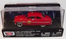 Motormax. 1949 Mercury Coupe Fire Chief. Die-cast model scale 1/43