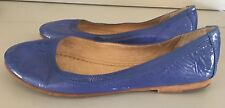 Frye Carson Ballet Leather Flats Size 8M Closee Toe Shoes Ballerina