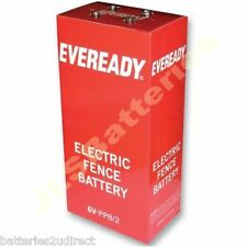 PP8/2  Electric Fence Energiser Battery 6v  (2 x PP8) (2848)
