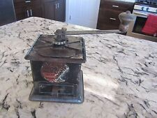 """""""Run Easy"""" COFFEE MILL metal hand crank SIMMONS HARDWARE Grinder #300 Antique"""