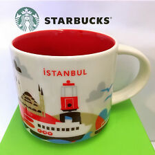 Starbucks You Are Here City ISTANBUL Collection YAH, 14oz new Mug, TURKEY *RARE*