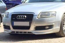Audi A6 4F C6 04-08 Front Bumper spoiler S line lip Valance addon S-Line abt s6