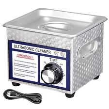 Stainless Steel 60W 1.3L Liter Industry Digital Ultrasonic Cleaner w/Timer 110V