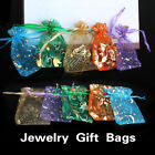 50 × Organza Jewelry Candy Pendent Wedding Party Mini Pouch Bags Xmas Gifts Bags