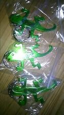 3 x Desperados Green Lizard Bottle Opener Key Ring COLLECTABLE - 8cm FREE UK P&P