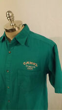 COOL Camel Turkish Jade Cigarette Shirt by Tutti USA made sz Med