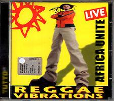 AFRICA UNITE reggae vibrations - live CD allegato Tutto INEDITO