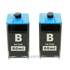 2 Black Ink Tank for HP 564 564XL DIY Ink REFILL system