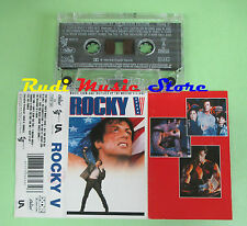 MC ROCKY V OST 1990 MC HAMMER ELTON JOHN SNAP MC TAB ROB BASE no cd lp dvd vhs