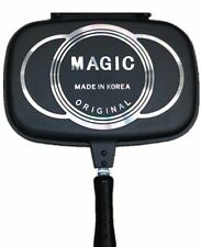 Magic Non Stick Foldable Double Sided Standard Pressure Frying Grill Pan
