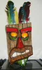 AKU AKU CRASH BANDICOOT OOGA BOOGA MAN GAME MASK NEW REPLICA ADULT CHILD COSPLAY