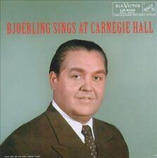 Bjorling Sings at Carnegie Hall Bjorling, Jussi Audio CD