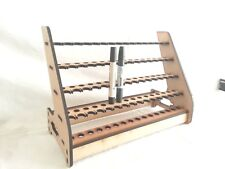 """Click in"" Promarker &/or Flex Marker Stand Storage Holds 64,  MDF Laser Cut"