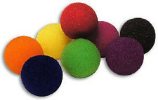 "4 Super Soft GREEN 1.5"" Sponge Balls Easy Beginner Close Up Magic Trick Pocket"