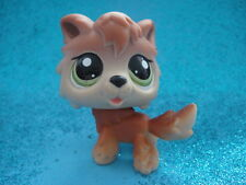 ORIGINAL Littlest Pet Shop 2141 BROWN TIMBER WOLF PUPPY DOG Shipping with Polish