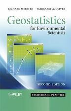 Geostatistics for Environmental Scientists -- Webster & Oliver, 2nd Ed  Hardcovr