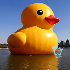 16ft 5In Outdoor Giant Inflatable Promotion Yellow Rubber Duck Floats Pool Lake