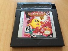 Ms. Pac-Man Special Color Edition (Nintendo Game Boy Color, 1999) - Tested!