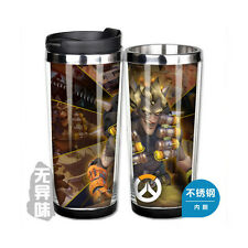 Overwatch JUNKRAT Double Layer Heat Insulation Cup Stainless Steel Cup