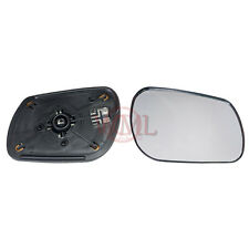 MAZDA 6 2002- 2006 DOOR/WING MIRROR GLASS SILVER CONVEX,HEATED &BASE,RIGHT SIDE