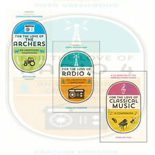 Caroline Hodgson Collection 3 Books Set For the Love of Radio ,The Archers ,NEW