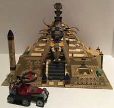 LEGO Pharaoh's Quest 7327 Scorpion Pyramid ~ No Minifigures/Instructions/Box
