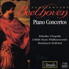 Beethoven, Tchaikovsky: Piano Concertos (CD, Oct-2000, Amadis)
