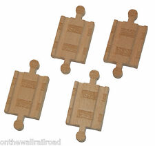 4 MALE TRACK ADAPTERS Thomas Tank Engine Wooden adapter NEW!