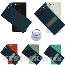 New Back Door Battery Glass Cover Case Panel For Sony Xperia Z Z1 Z2 Z3 Compact