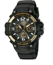 Casio Men's MCW-100H-9A2 Heavy Duty Chronograph Digital Quartz Watch 100M