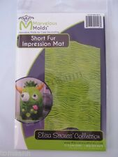 Marvelous Molds silicone impression mat Short Fur fondant cake decorating USA